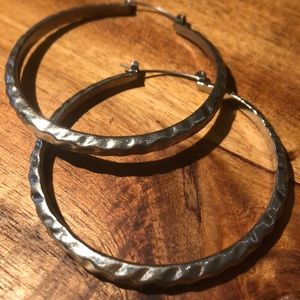 Jewelry - Sterling Silver hoop earrings